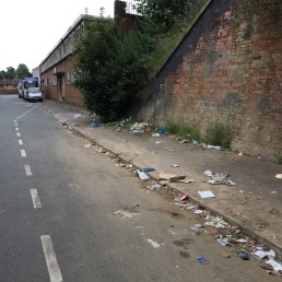 This street in Deritend cleaned