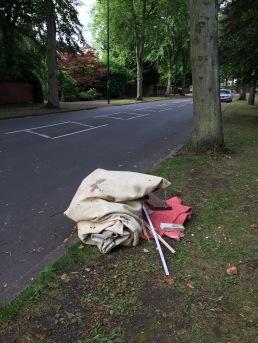 Flytipping in Billesley Lane - removed