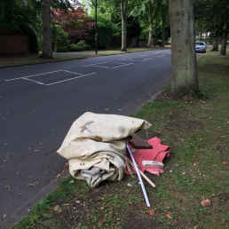Flytipping in Billesley Lane - removed