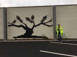 Persuaded Marshalls to keep the Meteor Mural (or part of it) at M& S