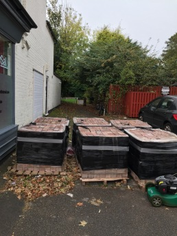 Obstruction in School Road - removed