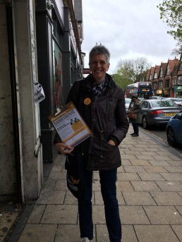 Campaigning for our local police