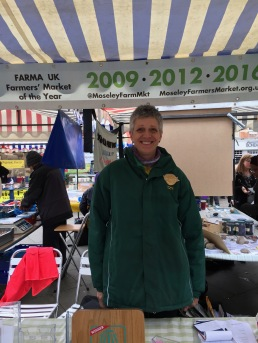 Moseley Farmers Market get Best in UK 3 times. Izzy is a volunteer director