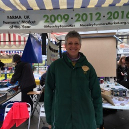 Moseley Farmers Market get Best in UK 3 times. Izzy is a volunteer director