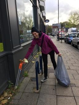 Keeping Moseley village clean