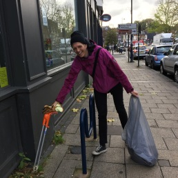 Keeping Moseley village clean
