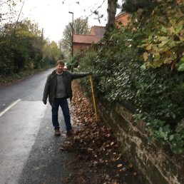 Windermere Road leaf clearing