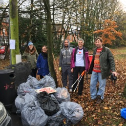 Yardley Wood Road litterpick