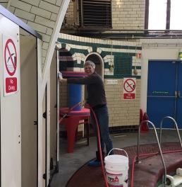 Moseley Road Baths volunteer day