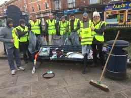 Set up Moseley Litterbusters
