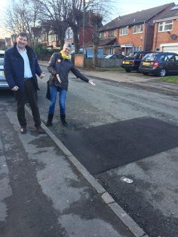 Potholes fixed