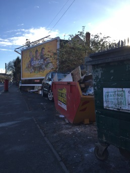 Alcester Road mess...