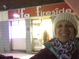 Night shift during homeless cold weather provision