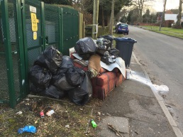 Fly tipping Belle Walk..reported
