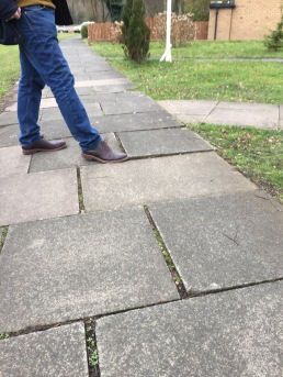 Wonky pavements reported