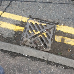 Blocked drain St Mary's Row..reported