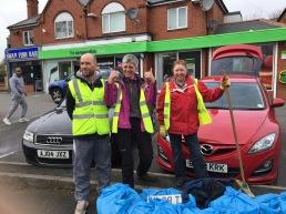 Litter busting with Swanshurst Lane residents